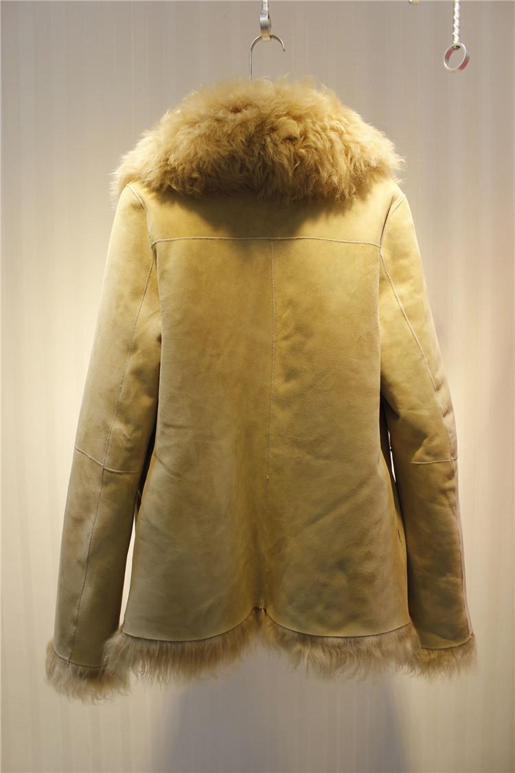 b724c7e15c93 Женская натуральная дубленка. Овчина. Модель 63108.