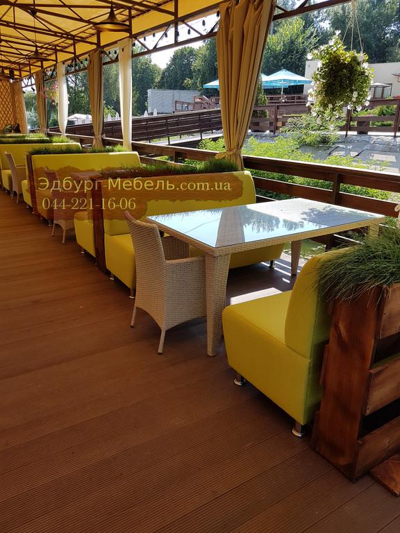 Диваны для Отельно-ресторанный комплекс «Дача на Десне»