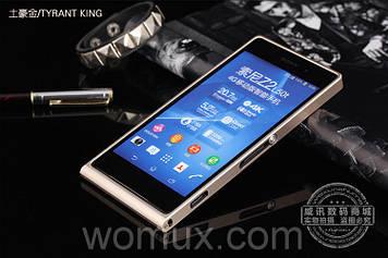 Оригинальный металический чехол бампер панель METAL LINE для телефона SONY XPERIA Z2 D6502
