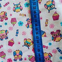 Фланелевая пеленка 100×90