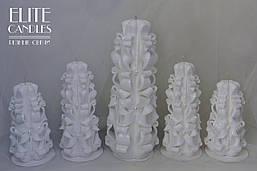 Великий набір весільних свічок для сімейного вогнища на церемонію