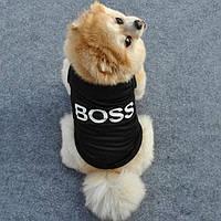 Футболка для меленькой собаки Boss