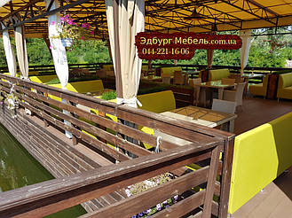 Диван для кафе на 3 человека 160х65х90см Подробнее: https://edburg-mebli.com.ua/p561751096-divan-dlya-kafe.html