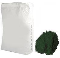 Зеленый темный пигмент, 25 кг