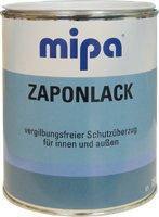 Лак для цветных и чёрных металлов Mipa Zaponlak 1л