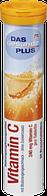 Вітамін С Das gesunde Plus Vitamin C Brausetabletten, 20 St