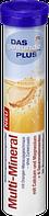 Вітамін мульти-мінерал Das gesunde Plus Multi-Mineral Brausetabletten, 20 St