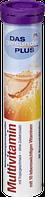 Вітамін мультивітамін Das gesunde Plus Multivitamin Brausetabletten, 20 St