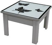Журнальный стол(зеркало с изображением пескоструй), фото 1