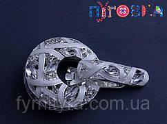 Кліпса шубна (шубний гачок) А, 496, white
