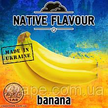 Ароматизатор  Native Flavour Banana  со вкусом банана 10, 30 мл