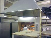 Монтаж кухонных вентиляционных зонтов