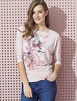 Женская блуза розового цвета Neo Zaps, осень-зима 2017-2018