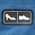 Сумка-органайзер для обуви (cиний), фото 4
