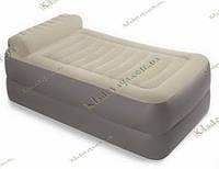 Надувная Велюр кровать с подголовником  Intex  67776, фото 1