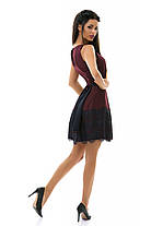 Е7195 Платье пояс\кружево  44,46,48, фото 3