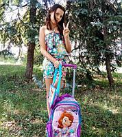 Детские рюкзаки на колесах