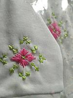 Костюмчик для новорожденных  костюм ручной вышивки от производителя модель ВБ04