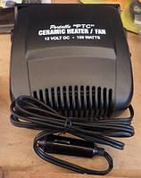 Тепловентилятор керамічний в авто 2в1 12V 150W Cartoy HF-381 на ніжці