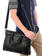 Мужская кожаная сумка. Модель 61208, фото 5