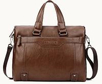 Мужская кожаная сумка. Модель 61208, фото 7