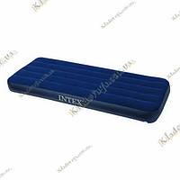 Надувной велюр матрас Intex 68950