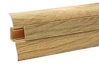 Плинтус напольный ПВХ 54 мм Сосна