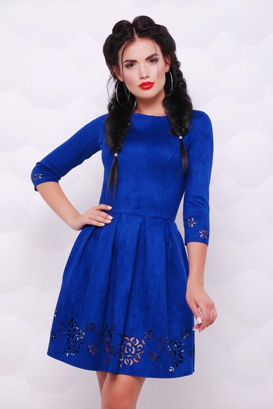 Платье Violet электрик