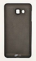 Чехол на Самсунг Galaxy A7 (2016) A710F Soft Touch Loopee мягкий Пластик Черный