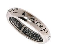 """Кольцо """"Кипкул"""" с кристаллами Swarovski, покрытое серебром (m2573000)"""