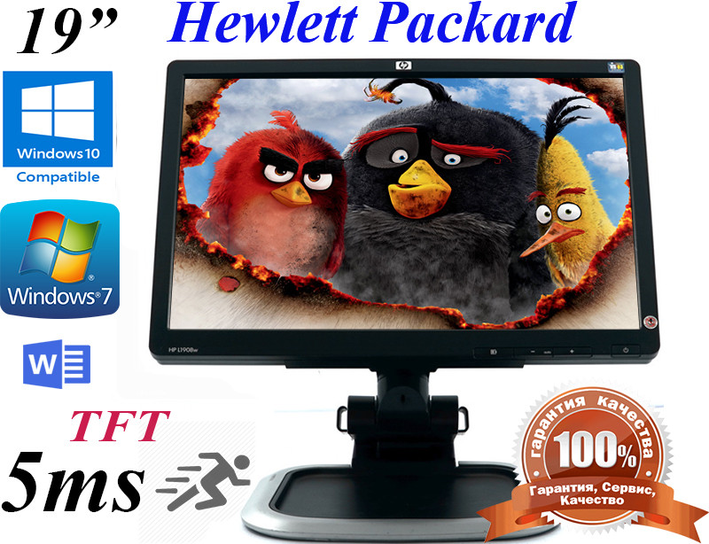 HP L1908w Widescreen LCD Monitor, фото 1