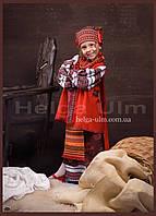 Український костюм (стрій) 5 частин, для дівчинки  - на замовлення