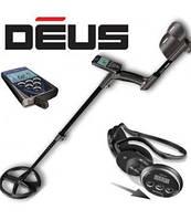 Металлоискатель XP Deus прошивка 4 катушка 9,полный комплект наушники vs4