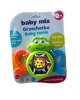 Погремушка прорезыватель Жаба 310562 Baby Mix
