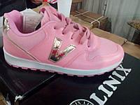 Розовые женские кроссовки Размеры 36-41
