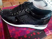 Чёрные кроссовки женские оптом Размеры 36-41