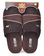 Тапочки домашние мужские 4Rest Classic brown, Коричневый, 45