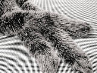 Галявина з песця чорно - біла 70 див.