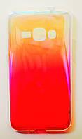 Чехол на Самсунг Galaxy J1 (2016) J120H Силикон перламутр Градиент