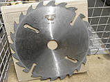 Пильный диск. с подрезными ножами. 450х50х24+6. Пильный диск по дереву. Циркулярка. Дисковая пила.Диск пильный, фото 3