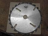 Пильный диск. с подрезными ножами. 450х50х24+6. Пильный диск по дереву. Циркулярка. Дисковая пила.Диск пильный, фото 4