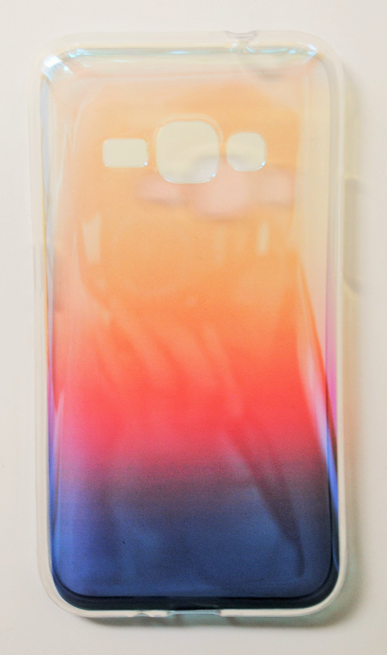 Чехол на Самсунг Galaxy J1 (2016) J120H Силикон перламутр Рассвет