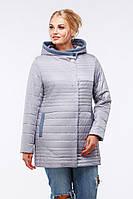 Женская куртка Розалия размеры 48 - 64,  TM NUI VERY светло-серый