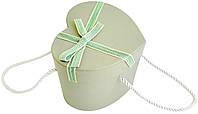 Коробка подарочная сердце (2-TW) 12х15 см