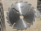 Пильный диск. с подрезными ножами. 500х50х18+6. Пильный диск по дереву. Циркулярка. Дисковая пила.Диск пильный, фото 2