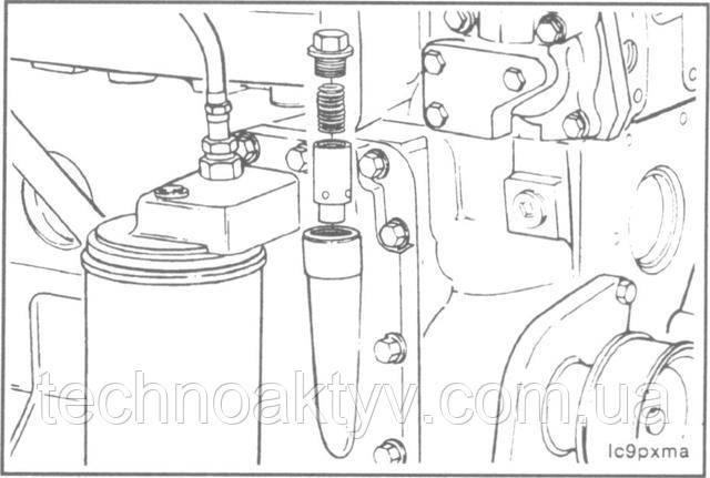 Ключ 22 мм  Выверните пробку и извлеките клапан.