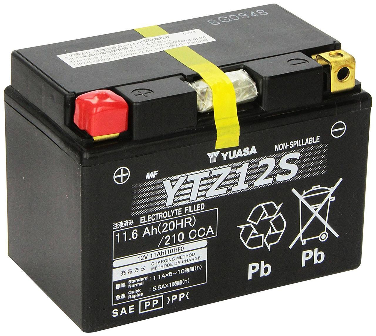 Аккумулятор Yuasa YTZ12S