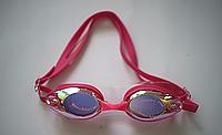 Очки для плавания зеркальные с антифогом DOLVOR adult PINK