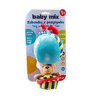 """Подвеска музыкальная """"Медведь на воздушном шаре"""" 3181 Baby Mix"""