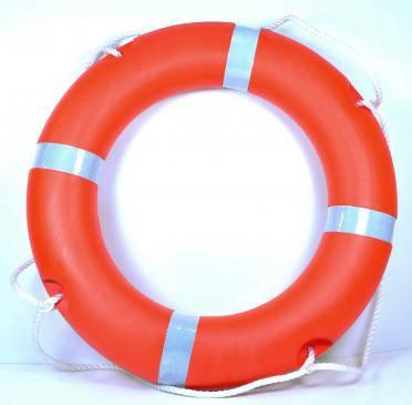 Спасательный круг 2,5 кг Life buoy solas, фото 2